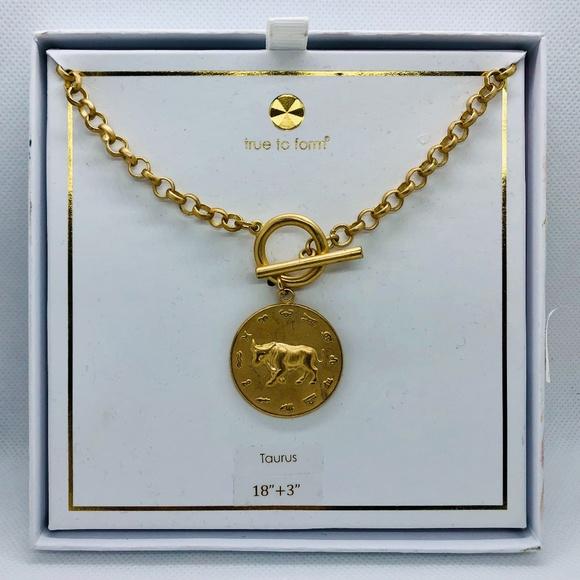 "🌷True to Form ""Taurus"" necklace"